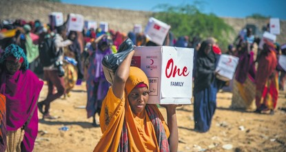 pThe Turkish Red Crescent has recently picked up pace in its humanitarian aid delivered to drought-stricken Somalia as the Muslim-majority country is set to experience the Muslim holy month of...