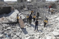 Syria regime airstrikes kill 9 in Idlib de-escalation zone