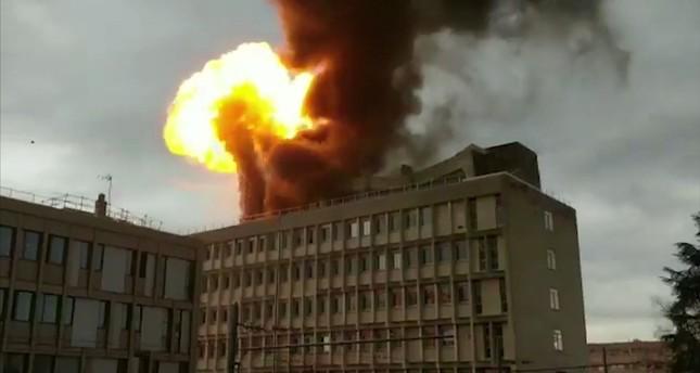 Huge explosion, fire rocks France's Lyon university