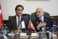 Turkey and Pakistan's speakers discuss 15 July, stress 'close bonds'