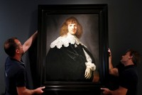 Painting newly attributed to Rembrandt in Amsterdam show