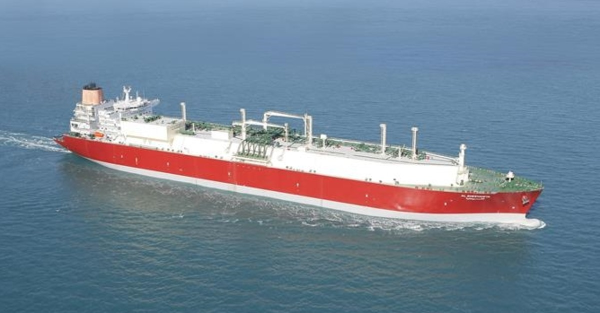 Q-Flex LNG tanker Al Sheehaniya. (Photo: Qatargas)