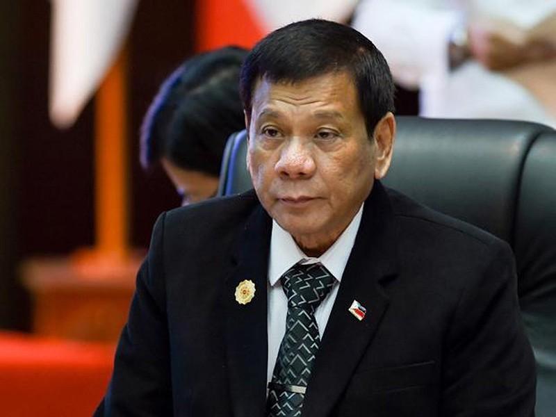 Philippine President Rodrigo Duterte (Sabah File Photo)