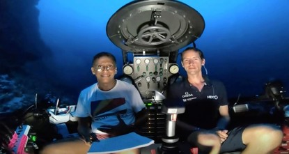 Seychelles president makes plea to protect oceans in underwater speech
