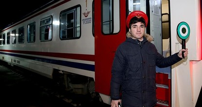 The Istanbul-Sofia Express, the result of an agreement between State Railways of the Turkish Republic (TCDD) and Bulgarian Railways, set off from Istanbul's Halkalı train station on Feb. 20 for its...