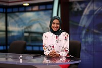 Muslim woman becomes America's first headscarf-wearing TV reporter
