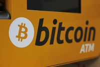 Bitcoin down 9 percent, hitting one-month low