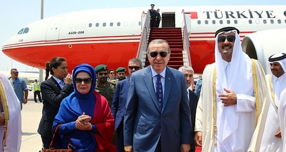 pAs part of Ankara's efforts to help ease the recent crisis between several Gulf and other Arab states and Qatar, President Recep Tayyip Erdoğan visited Saudi Arabia and Kuwait on Sunday, and later...