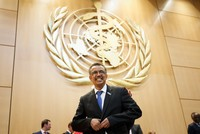Dr. Tedros Adhanom Ghebreyesus from Ethiopia was elected as the new director-general of the World Health Organization (WHO) in Geneva on Tuesday.