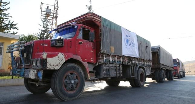 المساعدات إلى حلب تنتظر عند الحدود وجيش النظام ينسحب من الكاستيلو