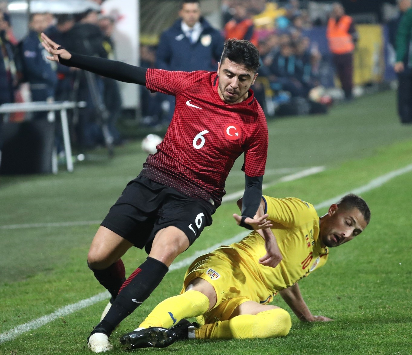 The first friendly under coach Mircea Lucescu ended in disappointment as Turkey lost to Romania 2-0, on Nov. 9.