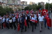 Hundreds condemn the PKK murder of teacher in Tunceli march