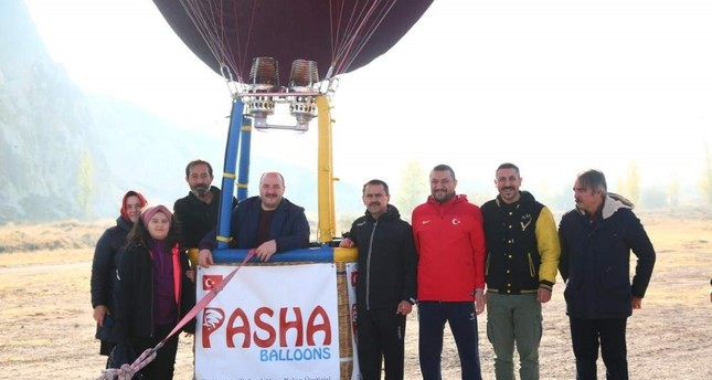 First domestic hot air balloon takes flight in Cappadocia
