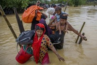 More than 421,000 Rohingya Muslims have been forced to flee their homes in Myanmar and cross the border into Bangladesh to escape violence and persecution since Aug. 25, the U.N. said...