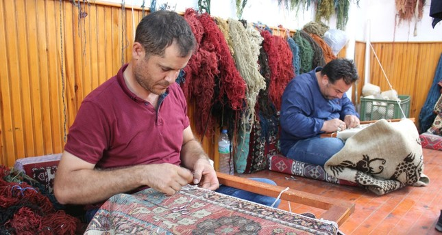 Sultanhanı's carpet repairers are the last of their generation and the town faces a lack of new repairers.
