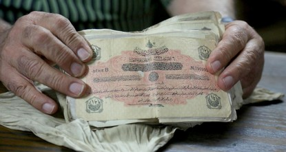 Palestinian family safeguards Ottoman soldier's deposit for generations