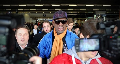 pFlamboyant former NBA star Dennis Rodman was headed for North Korea Tuesday, with the heavily-tattooed former player apparently set for another round of his controversial basketball...