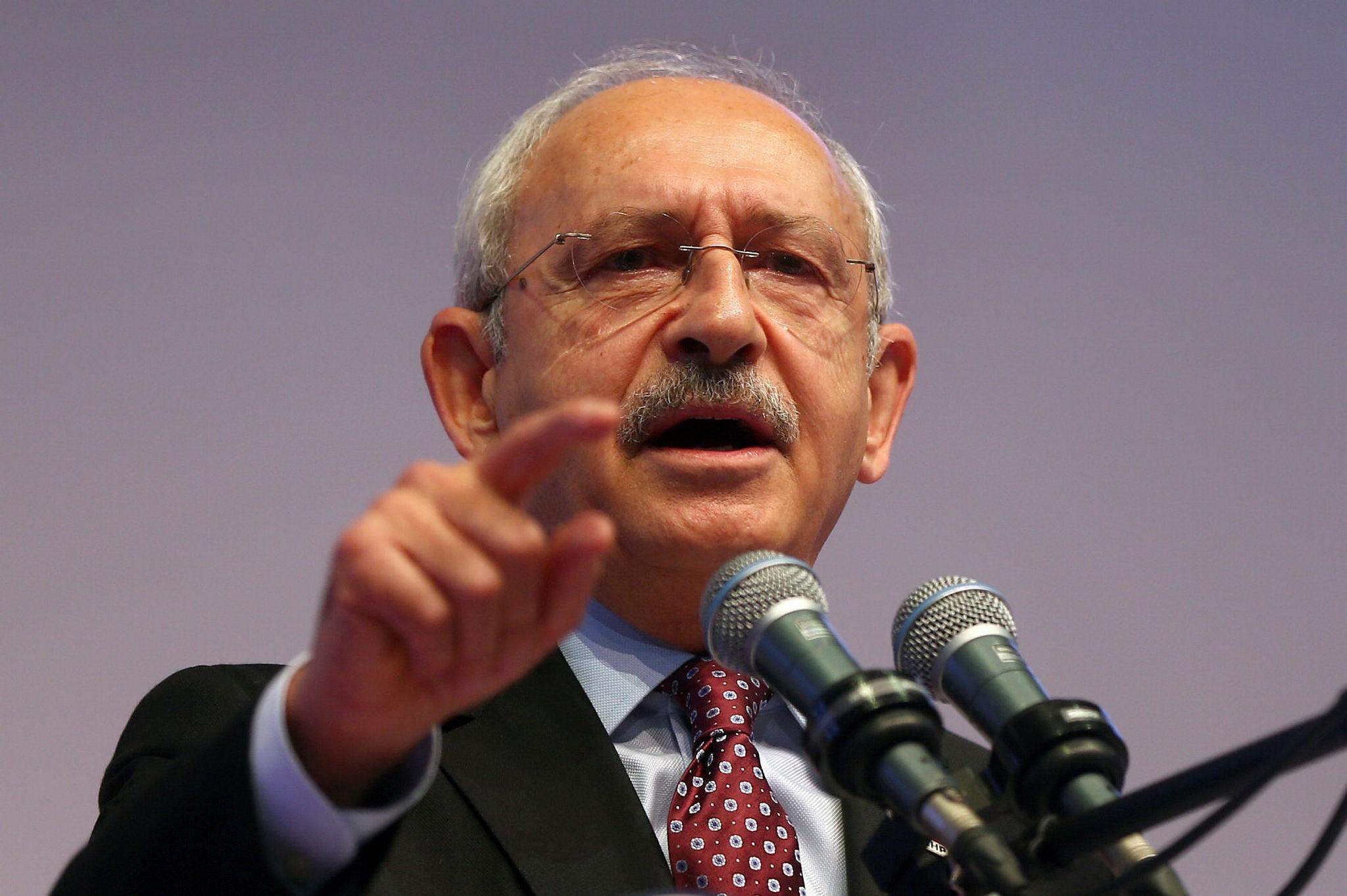 CHP leader Kemal Ku0131lu0131u00e7darou011flu (AA Photo)