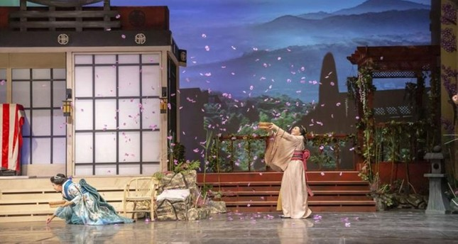 A scene from Madama Butterfly. AA Photo