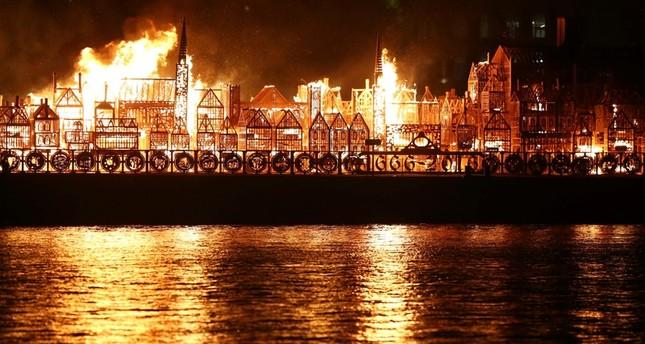 الاحتفال بمرور 350 عاماً على حريق لندن الكبير