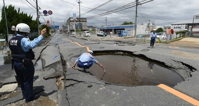 3 dead after powerful earthquake shakes Osaka