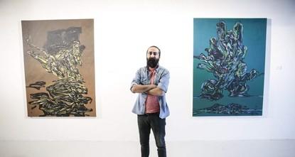 Syrian artist depicts horrors of war in CerModern exhibit