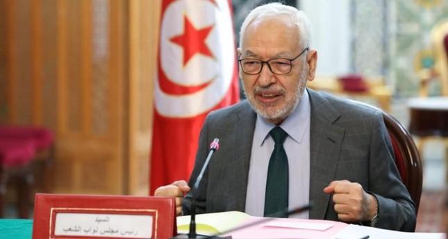 البرلمان التونسي يجدد الثقة بالغنوشي رئيسا له
