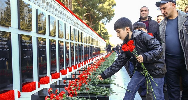 Azerbaijan remembers victims of 'Black January'