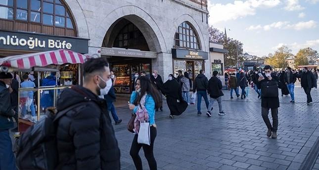 تركيا .. 64 وفاة و11 ألف إصابة بكورونا