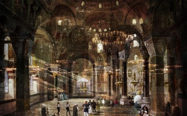 """""""Ayasofya"""" (""""Hagia Sophia"""") from """"Hidden Subject."""""""