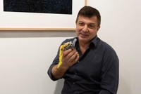 Man eats $120,000 piece of art, a banana taped to wall