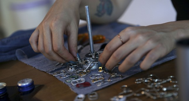 Kadıköy workshop creates 'art out of trash'