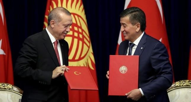 أردوغان: زيارتي إلى قرغيزيا ستُثمر نتائج جيدة في العلاقات الثنائية والإقليمية