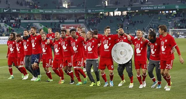 Bayern München zum fünften Mal in Folge Meister