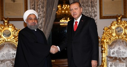 pPresident Recep Tayyip Erdoğan and his Iranian counterpart Hassan Rouhani held a closed-door meeting in Istanbul on Wednesday after Turkey hosted an extraordinary summit of the Organization of...