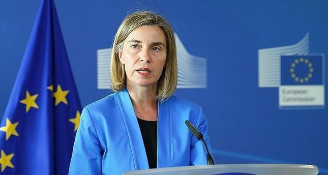 فيديريكا موغريني الممثلة العليا للأمن والسياسة الخارجية للاتحاد الأوروبي