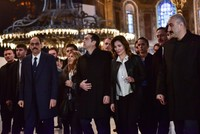 Greek PM Tsipras visits Hagia Sophia, seminary during Istanbul visit