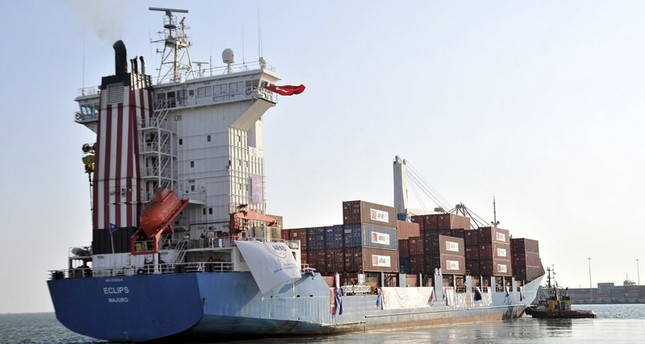 وفد تركي يصل غزة لاستقبال مساعدات السفينة التركية الجديدة