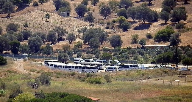 قوات الأمن التركية تفتّش قاعدة بحرية بولاية إزمير