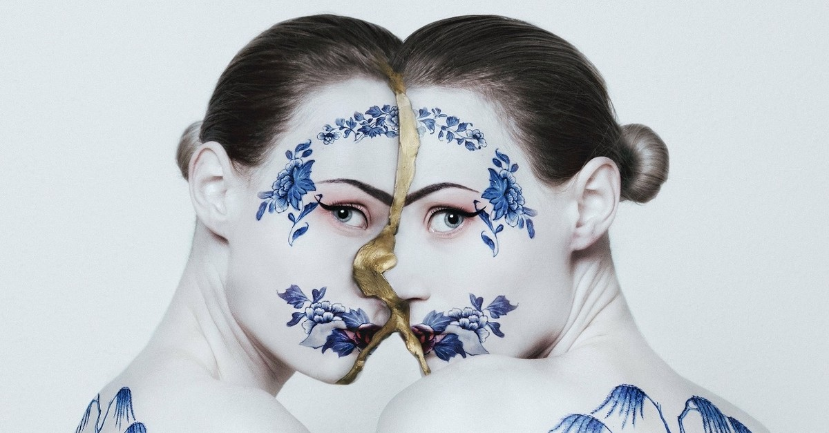 A work by Flora Borsi, at Anna Laudel Gallery.