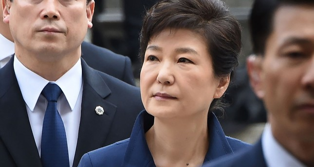 SKorea's ousted leader Park Geun-hye arrested