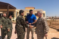 US CENTCOM general, envoy meet with top YPG terrorist in Syria