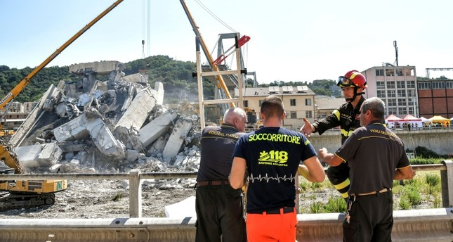 10-20 may still be missing in Italy bridge collapse