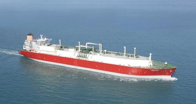 Q-Flex LNG tanker Al Sheehaniya. (Photo: Qatargas)