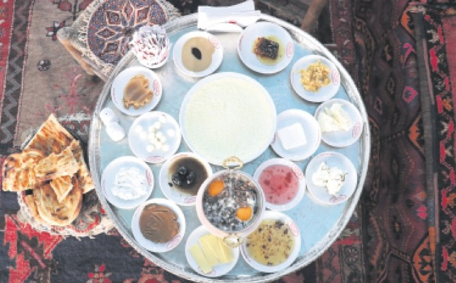 The Van breakfast is among the most popular of its kind in Turkey.