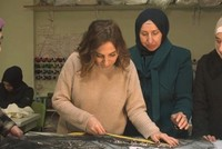 Syrian refugee women to showcase designs in London
