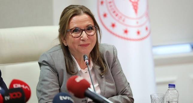 وزيرة التجارة التركية روحصار بكجان
