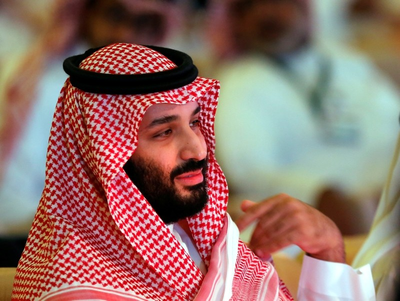 Saudi Crown Prince, Mohammed bin Salman attends the second day of the Future Investment Initiative conference, in Riyadh, Saudi Arabia, Wednesday, Oct. 24, 2018. (AP Photo)