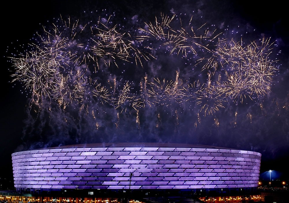 First European Games start with magnificent opening ceremony in Baku