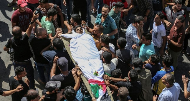 مقتل فلسطيني وإصابة 20 برصاص إسرائيلي في غزة